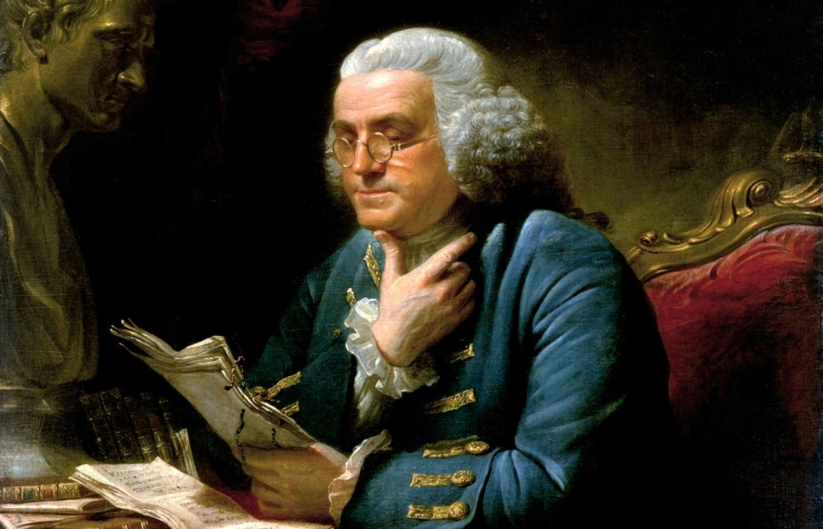 Benjamin Franklin - One of the most famous journal writers ever